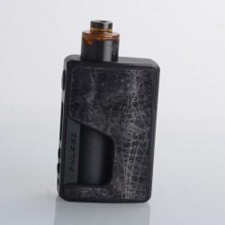 Authentic Vandy Vape PR SE Squonk Mod Kit with Requiem RDA Atomizer - Meteorite Grey, VW 5~95W, 1 x 16850, 20700, 21700