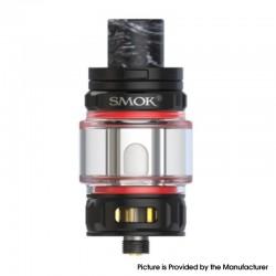 Authentic SMOKTech SMOK TFV18 Mini Tank Vape Atomizer - Plating Matte Black, 6.5ml, 0.15 / 0.2ohm Mesh Coil, 28mm Diameter