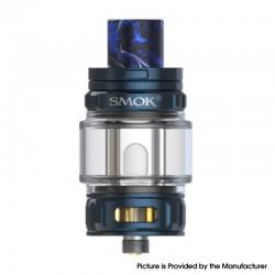 Authentic SMOKTech SMOK TFV18 Mini Tank Vape Atomizer - Blue, 6.5ml, 0.15 / 0.2ohm Mesh Coil, 28mm Diameter