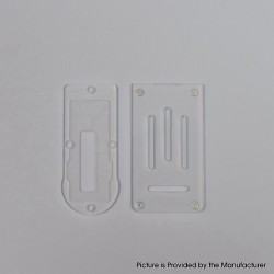 Replacement Front + Bottom Panel Plate for Aspire Boxx Mod Kit