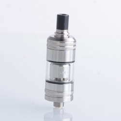 Authentic KIZOKU Shima 18mm MTL Tank Vape Atomizer - Silver, 2.4ml, 0.7ohm, 18mm Diameter