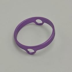 Authentic Auguse Era Pro RTA Replacement Decorative Ring - Purple, Anodized Aluminum, 22mm Diameter (1 PC)