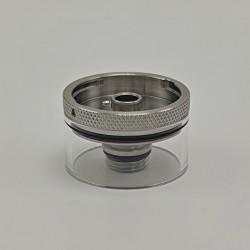 Authentic Auguse Era Pro RTA Replacement Nano Tank Kit - Silver, 316SS + Glass, 2.0ml