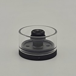 Authentic Auguse Era Pro RTA Replacement Nano Tank Kit - Black, 316SS + Glass, 2.0ml