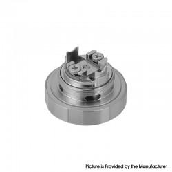 Authentic Steam Crave Mini Robot RTA Replacement Single Coil Build Deck - Silver