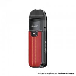 Authentic SMOKTech SMOK Nord 50W Pod System Vape Kit - Leather Version-Red, 1800mAh, 5~50W, 4.0 / 4.5ml, 0.23 / 0.6ohm