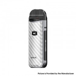 Authentic SMOK Nord 50W Pod System Kit - Regular Version-Silver Carbon Fiber, 1800mAh, 5~50W, 4.0 / 4.5ml, 0.23 / 0.6ohm