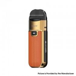 Authentic SMOKTech SMOK Nord 50W Pod System Vape Kit - Leather Version-Brown, 1800mAh, 5~50W, 4.0 / 4.5ml, 0.23 / 0.6ohm