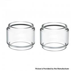 Authentic Steam Crave Mini Robot RTA Replacement Bubble Glass Tube - Transparent, 3.0ml (2 PCS)