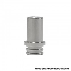 Authentic Steam Crave Mini Robot RTA Replacement Drip Tip - Silver