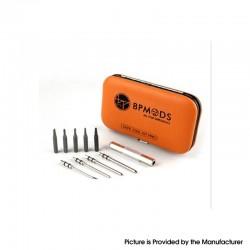 Authentic BP MODS Vape Tool Kit - Flat Head Screwdriver, Philip's Head Screwdriver, Hex Screwdriver, Coiling Pole, Cotton Hook