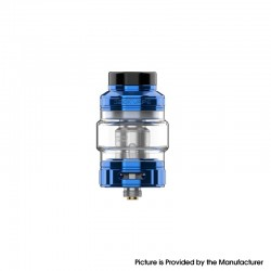 Authentic GeekVape Obelisk C Cerberus Tank Vape Atomizer - Blue, 5.5 / 4.0ml, 0.15 / 0.25ohm, 25mm Diameter