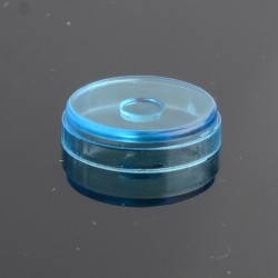 Replacement Button for dotMod dotAIO Vape Pod System - Translucent Blue, PMMA (1 PC)