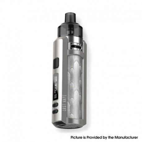 Authentic Lost Vape Ursa Mini 30W Pod System Vape Mod Kit - Crystal Cream, VW 5~30W, 1200mAh, 3.0ml, 0.4ohm / 1.0ohm