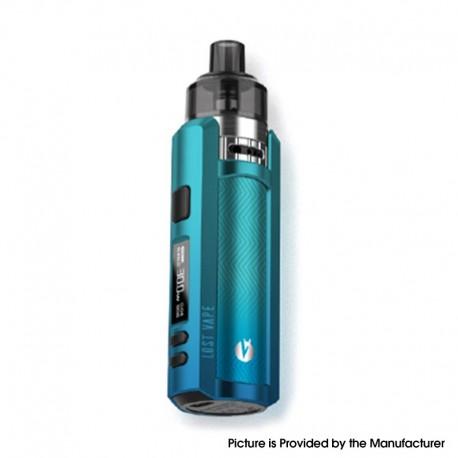 Authentic Lost Vape Ursa Mini 30W Pod System Vape Mod Kit - Phantom Blue, VW 5~30W, 1200mAh, 3.0ml, 0.4ohm / 1.0ohm