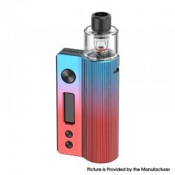Authentic Vandy Vape Nox 60W Pod System Vape Kit - Twilight Blue Red, VW 5~60W, 1600mAh, 3.0ml / 4.5ml