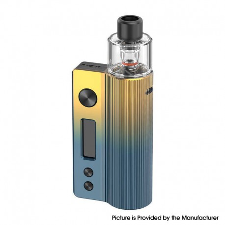 Authentic Vandy Vape Nox 60W Pod System Vape Kit - Dawn Yellow Blue, VW 5~60W, 1600mAh, 3.0ml / 4.5ml