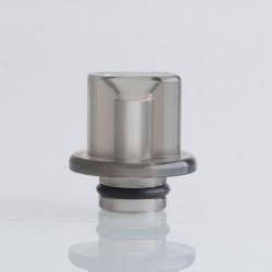 Authentic Reewape RS333 510 Drip Tip for RBA / RTA / RDA Atomizer - Translucent Black, Acrylic (1 PC)