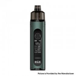 Authentic Uwell Aeglos H2 Pod System Vape Mod Kit - Emerald Green, 5~60W, 1500mAh, 4.5ml, 0.18ohm / 1.2ohm