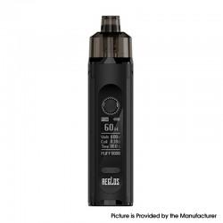 Authentic Uwell Aeglos H2 Pod System Vape Mod Kit - Classic Black, 5~60W, 1500mAh, 4.5ml, 0.18ohm / 1.2ohm