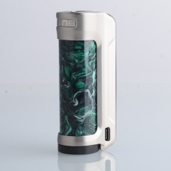 Authentic OBS Engine 100W VW Variable Wattage Vape Box Mod - SS Forest Green, 5~100W, 1 x 18650 / 20700 / 21700