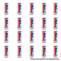 PVC Wrappers Skin Sticker for 20700 / 21700 Battery - 2003-Supreme (20 PCS)