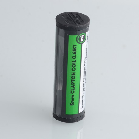 Authentic Wotofo SRPNT Dual Core Fused Clapton Coil - 0.65ohm, Ni80, 5mm ID (5 PCS)