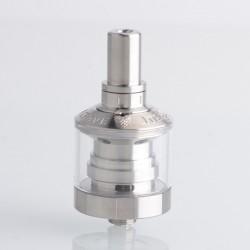 Authentic Steam Crave Mini Robot RTA Rebuildable Tank Vape Atomizer - Silver, Single Coil, MTL, 2.0 / 3.0ml, 23mm Diameter