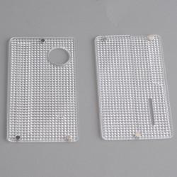 Authentic ETU Replacement Front + Back Door Panel Plates for dotMod dotAIO Vape Pod System - Diamond Pattern, PC (2 PCS)