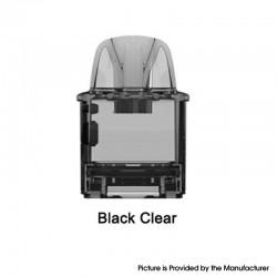 Authentic Rincoe Jellybox Nano Pod System Replacement Empty Pod Cartridge - Black Clear, 2.8ml (1 PC)