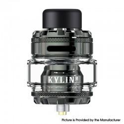 Authentic Vandy Vape Kylin M Pro RTA Rebuildable Tank Vape Atomizer - Gun Metal, 6.0ml / 8.0ml, 24.22mm Diameter