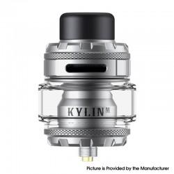 Authentic Vandy Vape Kylin M Pro RTA Rebuildable Tank Vape Atomizer - Frosted Grey, 6.0ml / 8.0ml, 24.22mm Diameter