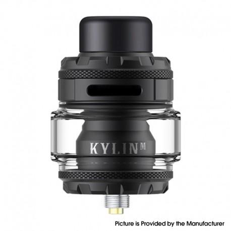 Authentic Vandy Vape Kylin M Pro RTA Rebuildable Tank Vape Atomizer - Matte Black, 6.0ml / 8.0ml, 24.22mm Diameter