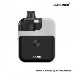 Authentic Ultroner Kamo Pod System Vape Starter Kit - White, 1400mAh, 4.0ml, 0.6ohm / 1.0ohm