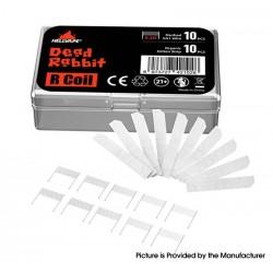 Original Hellvape Dead Rabbit R Tank Replacement Cotton + Mesh Coil Kit