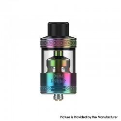 Authentic Hellvape Dead Rabbit R Tank Vape Atomizer - Rainbow, 5ml / 6.5ml, 25.5mm Diameter