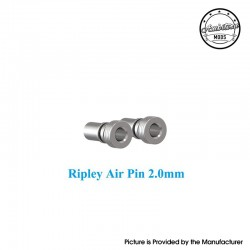 Authentic Ambition Mods Ripley MTL / RDL RDTA Replacement Air Pin - Silver, 2.0mm (2 PCS)