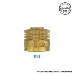 Authentic Ambition Mods Ripley MTL / RDL RDTA Replacement Top Cap - Brown, PEI