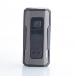 Authentic Wotofo Profile Squonk Vape Box Mod - Gunmetal, VW 5~80W / 5~200W, 1 / 2 x 18650, 7.0ml Bottle