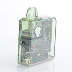 Authentic Rincoe Jellybox Nano Pod System Vape Mod Kit - Mocha Clear, 1000mAh, 2.8ml, 0.5ohm / 1.0ohm