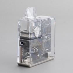 Authentic Rincoe Jellybox Nano Pod System Vape Mod Kit - Full Clear, 1000mAh, 2.8ml, 0.5ohm / 1.0ohm