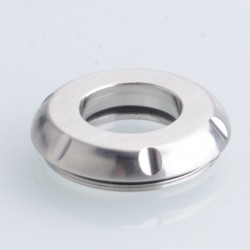 5AVape Cloud 2 Style RTA Replacement Top Cap - Silver, Stainelss Steel (1 PC)