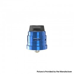 Authentic Damn Vape Nitrous RDA Rebuildable Dripping Vape Atomizer - Blue, With BF Pin, 22mm Diameter