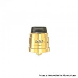 Authentic Damn Vape Nitrous RDA Rebuildable Dripping Vape Atomizer - Gold, With BF Pin, 22mm Diameter