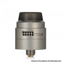 Authentic Damn Vape Nitrous RDA Rebuildable Dripping Vape Atomizer - Matte Grey, With BF Pin, 22mm Diameter