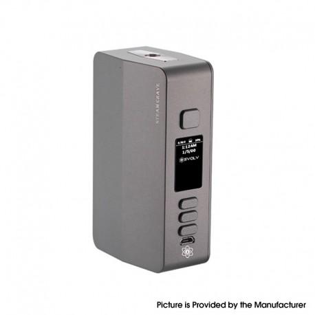 Authentic Steam Crave Hadron Plus DNA250C 200W TC VW Vape Box Mod - Gunmetal, 1~200W, 2 x 18650 / 20700 / 21700, Evolv DNA250C