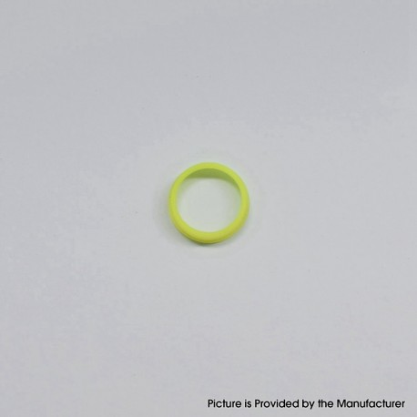 MK MODS Style Glow in the Dark Button Ring for DotMod Dotaio Pod System - Yellow (1 PC)
