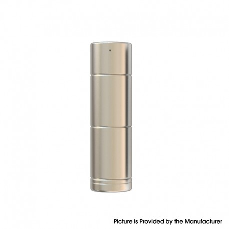 Authentic Cthulhu Tube Mod II - Silver, Semi-Mechanical, 1 x 18350 / 18650