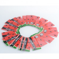PVC Wrappers Skin Sticker for 20700 / 21700 Battery - 2028-Watermelon (20 PCS)