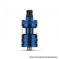 Authentic Hellvape Wirice Launcher Mini Tank Vape Atomizer - Blue, 3ml / 5ml, 0.7ohm / 1.2ohm, 23mm Diameter